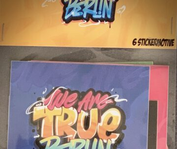 TRUE BERLIN STICKER PACK VOL.1